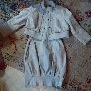 Bill Blass jacket and skirt
